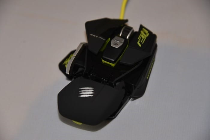 CDW Review - Mad Catz RAT PRO S Mouse - 13