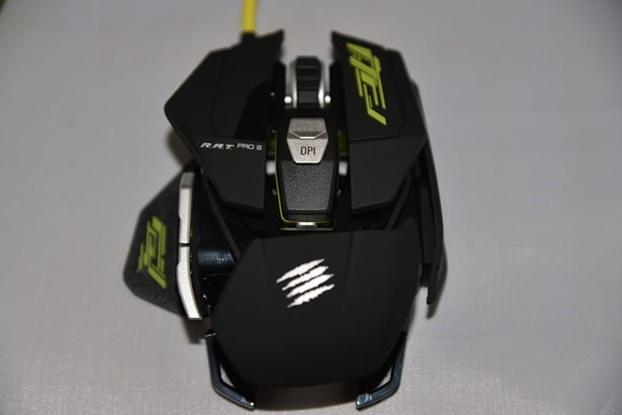 CDW Review - Mad Catz RAT PRO S Mouse - 17