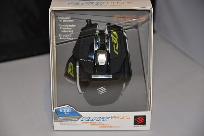 CDW Review - Mad Catz RAT PRO S Mouse - 2