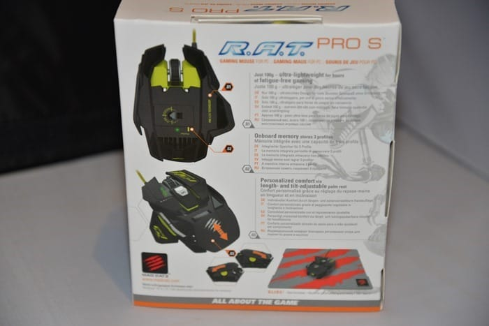 CDW Review - Mad Catz RAT PRO S Mouse - 3