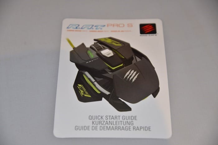 CDW Review - Mad Catz RAT PRO S Mouse - 5