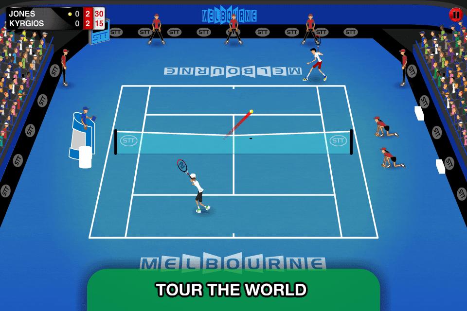stick tennis world