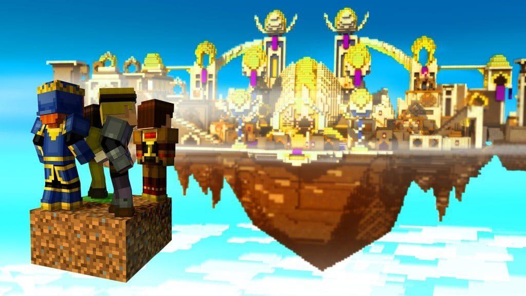 Скачать Minecraft: Story mode v1.33 на Андроид через торрент