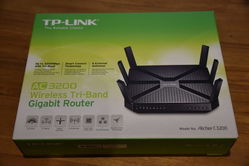 TP LINK AC3200 Wireless Tri Band