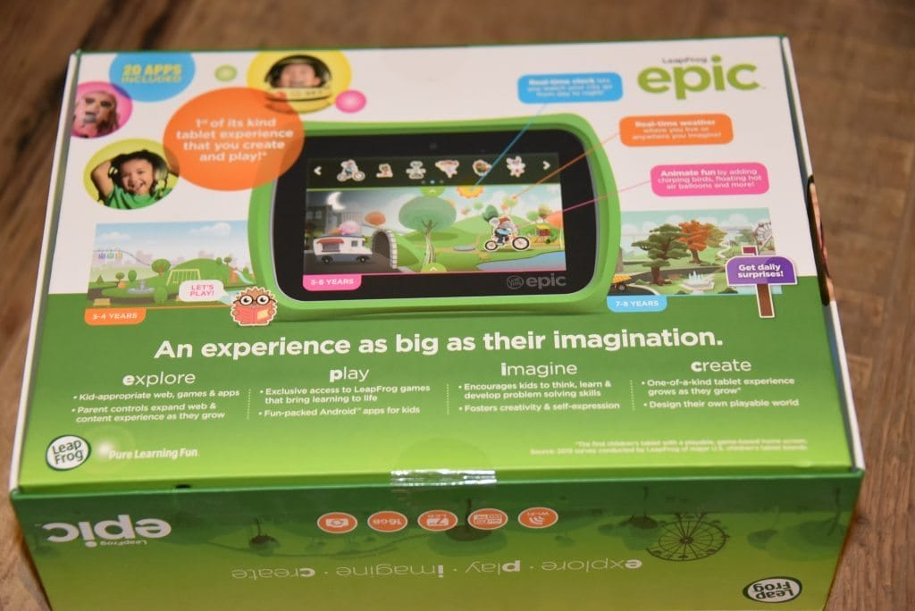 MGT - LeapPad Epic Review - 2