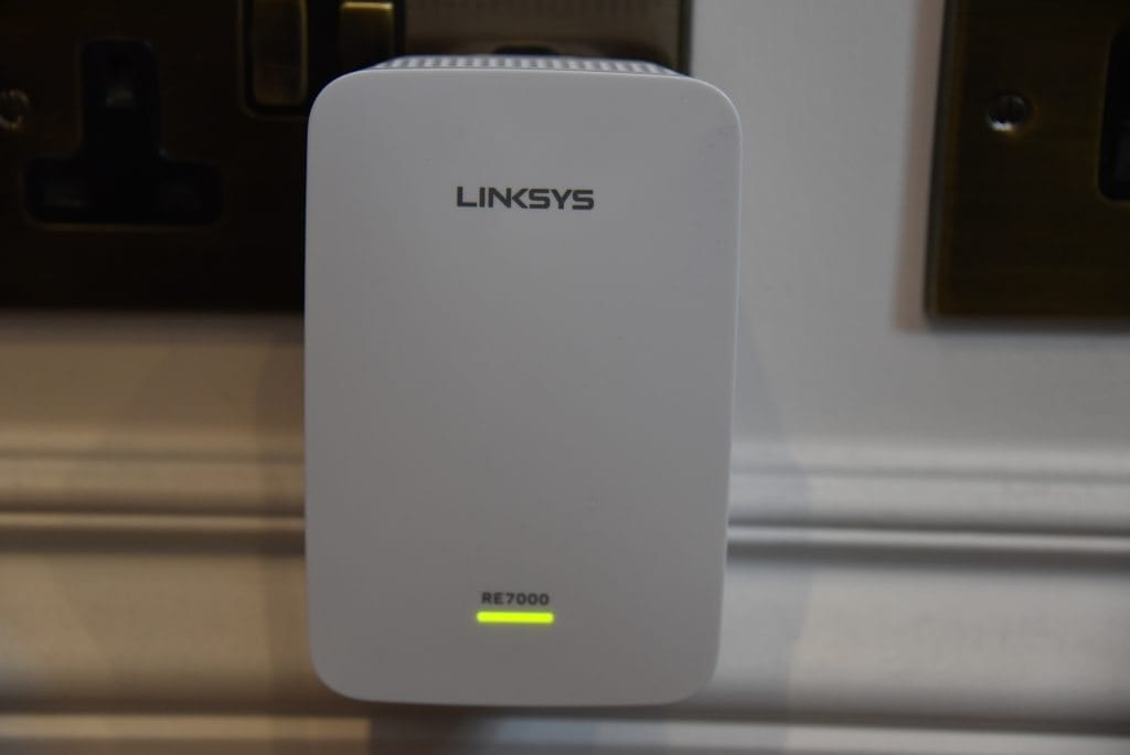 Review: Linksys MAX-STREAM AC1900+ Wi-Fi Range Extender