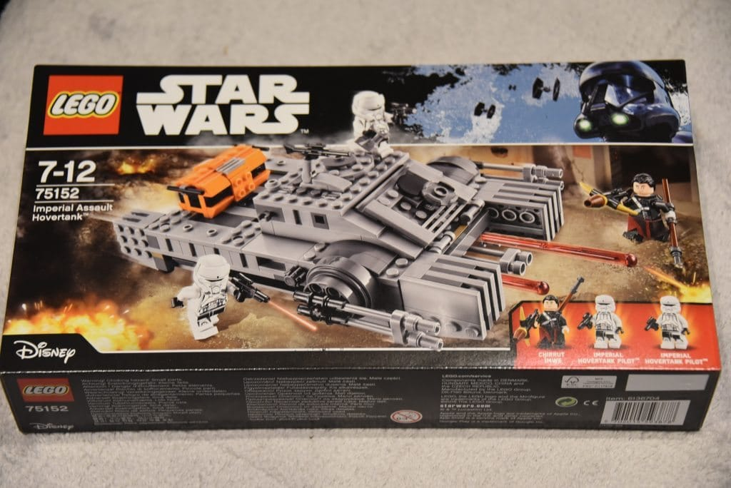 lego star wars rogue one imperial assault hovertank play. Black Bedroom Furniture Sets. Home Design Ideas