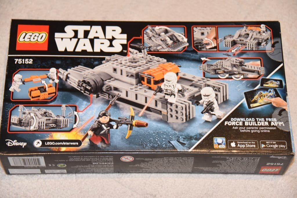 LEGO Star Wars Rogue One Imperial Assault Hovertank play set ...