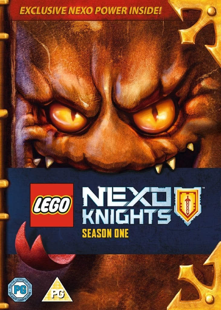 Win LEGO NEXO Knights: Season One On DVD • Movies Games and Tech