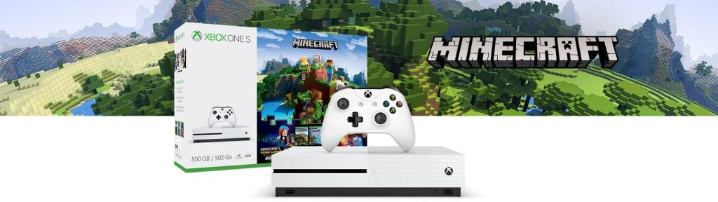 Xbox announces new Xbox One S bundles for Minecraft/Rocket