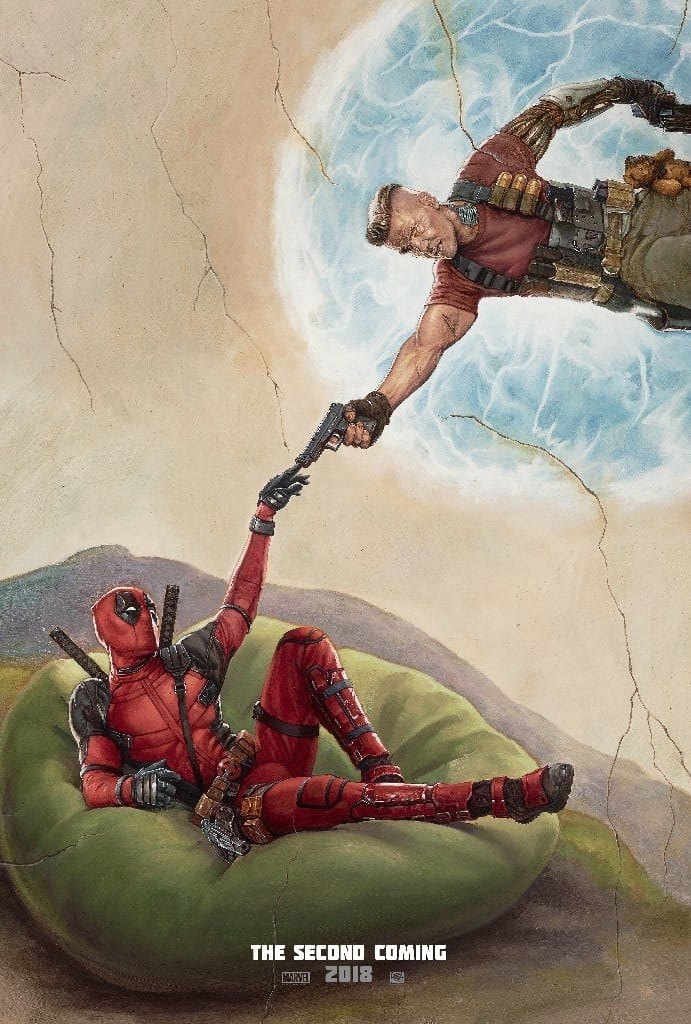 Deadpool 2 Quot Second Coming Quot Poster