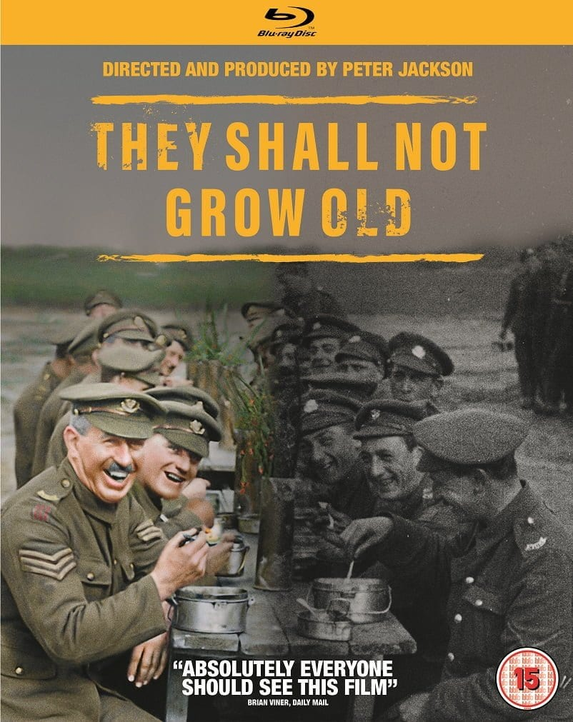 Win They Shall Not Grow Old on Blu-ray - Movies Games and Tech
