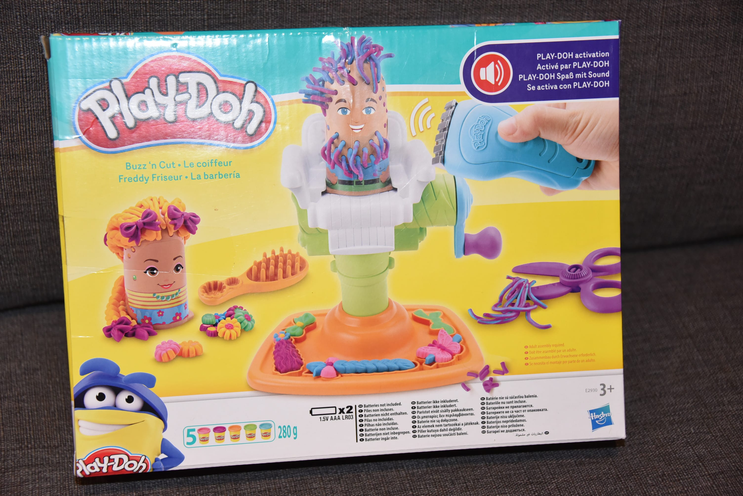 956a7508e86 Answer: let their imaginations 'grow' wild with the Play-Doh Buzz 'n Cut  barbershop toy! Going to the hair salon has never been more ...
