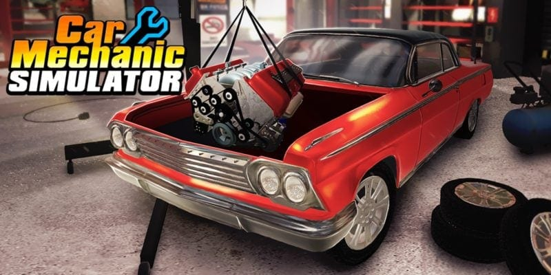 Car Mechanic Simulator Out Now for PS4 and Xbox One - Movies Games