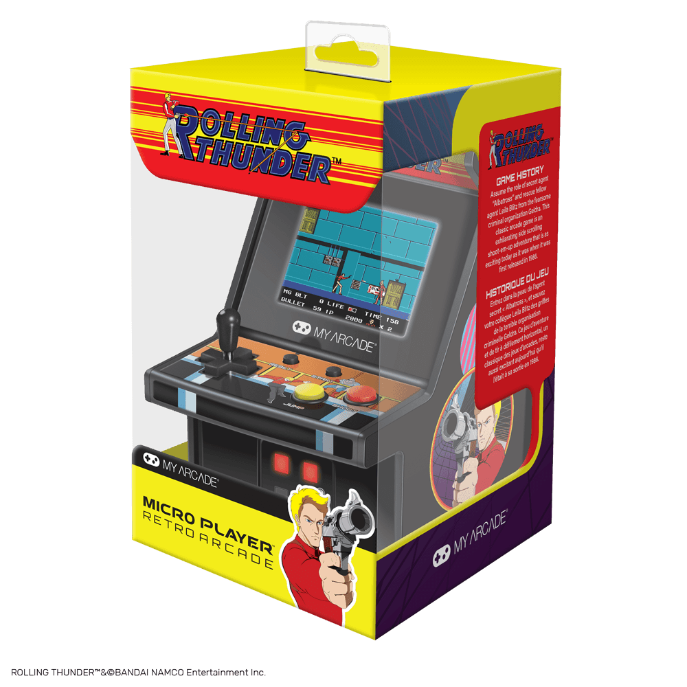 My Arcade Launches BUBBLE BOBBLE, Ms PAC-MAN And ROLLING
