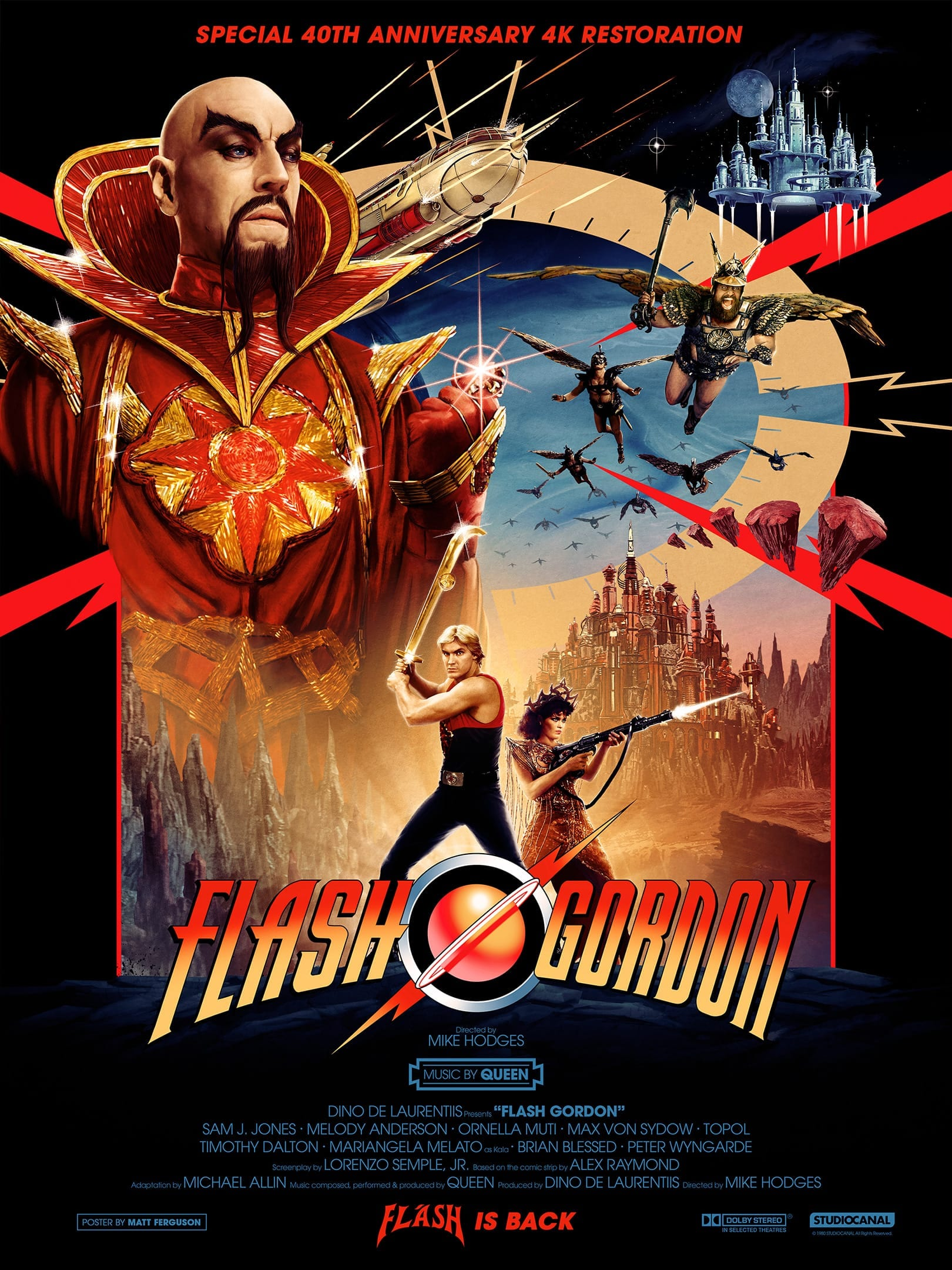 Two Minute Review Flash Gordon 4k Ultra High Definition Restoration Movies Games And Tech