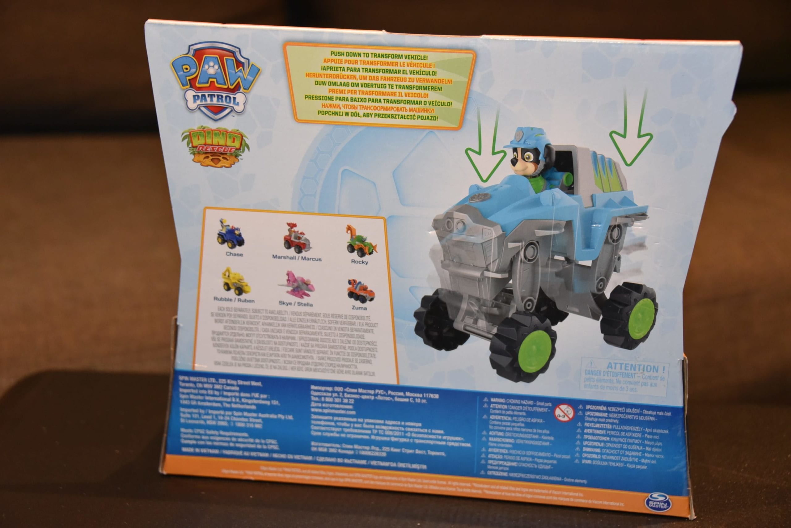 New Release PAW Patrol Dino Rescue Rex Deluxe Vehicle new 2020