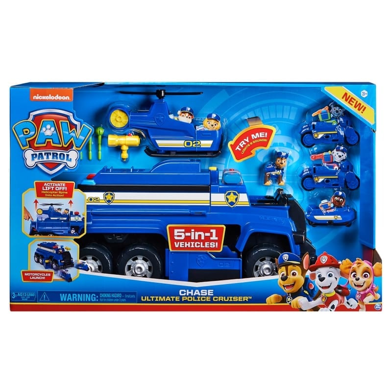 Paw Patrol a different spin!